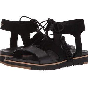 9b5b30654e6 UGG Shoes | Lauri Sandal Suede Espadrille Wedge 7 | Poshmark